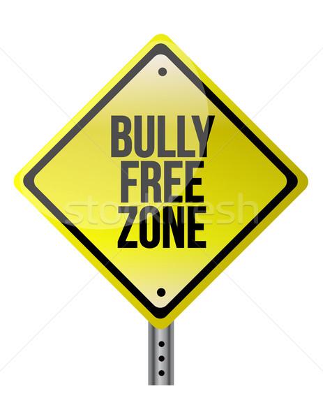 Bully free zone Stock photo © alexmillos