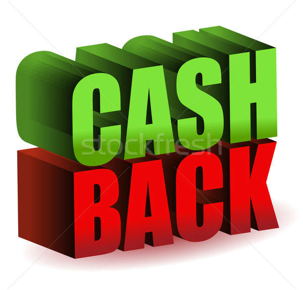 cash back Stock photo © alexmillos