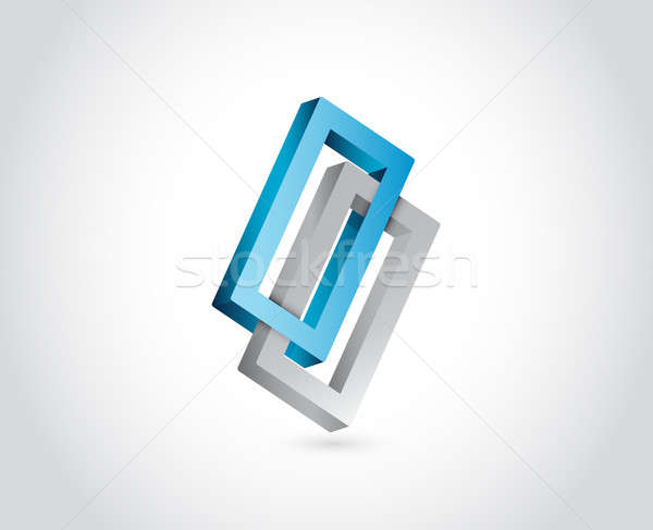 Infinite shape. business illustration design Stock photo © alexmillos