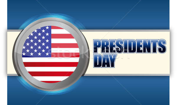 Presidents day sign  Stock photo © alexmillos