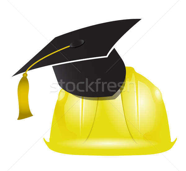 architecture education graduation tassel Stock photo © alexmillos