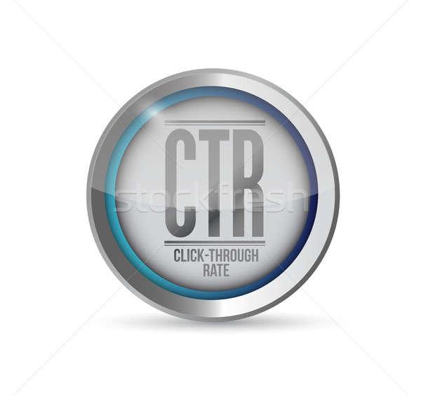 Kattintás gyakoriság internet hálózat forgalom marketing Stock fotó © alexmillos