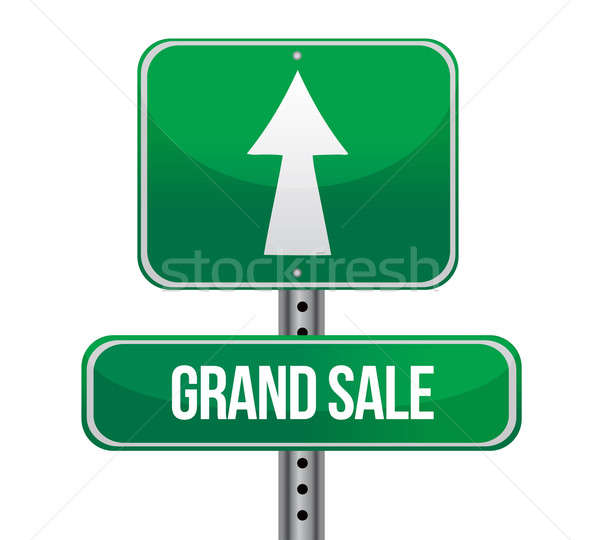 Grand Sale just ahead sign  Stock photo © alexmillos