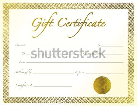 White Wedding card with loving rings and a golden boarder. Stock photo © alexmillos