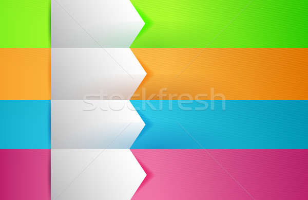 Customizable colorful texture Banners Infographics Stock photo © alexmillos
