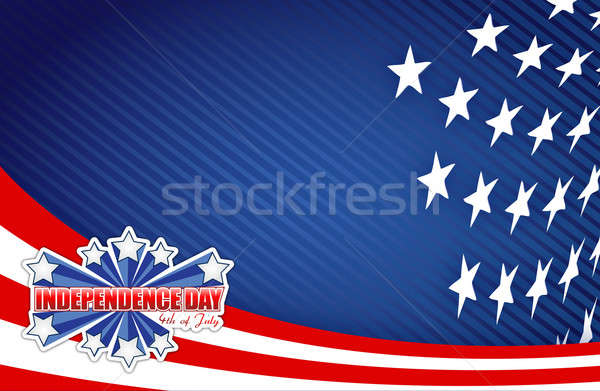 Fourth of july, independence day patriotic  Stock photo © alexmillos