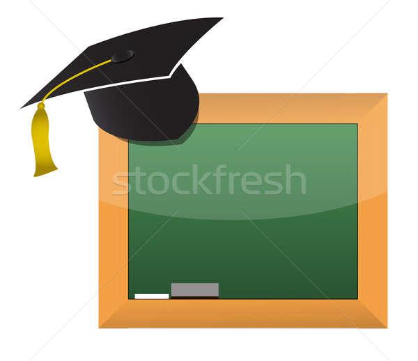 school education concept illustration design Stock photo © alexmillos