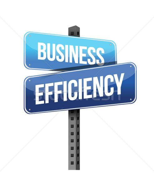 ビジネス 効率 にログイン 実例 デザイン 白 ストックフォト © alexmillos