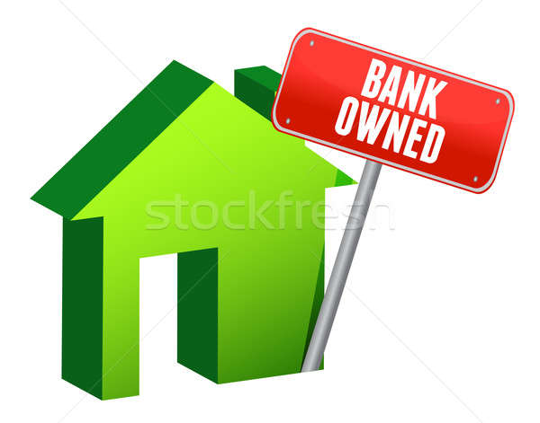 Bank owned property Stock photo © alexmillos