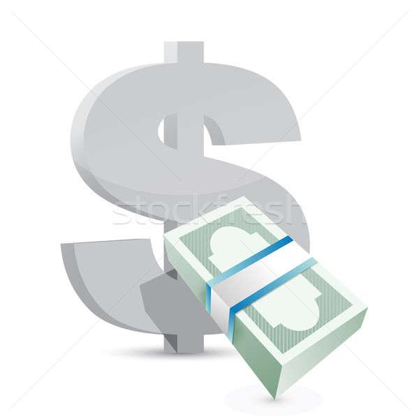 доллара валюта обмена рынке успех Сток-фото © alexmillos
