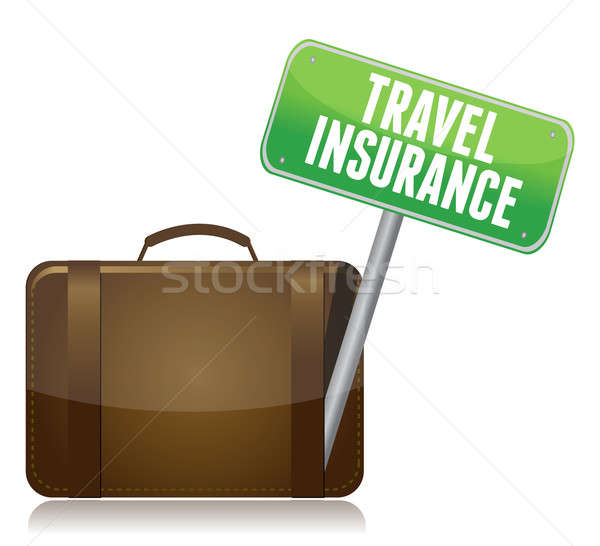 Travel Insurance concept isolated over a white background Stock photo © alexmillos