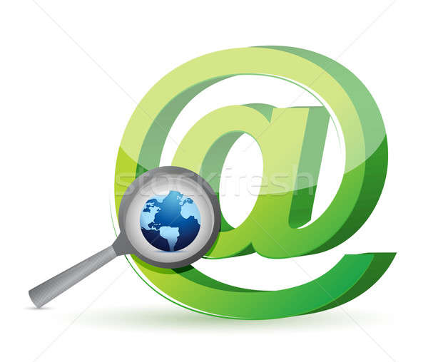 Global search concept illustration design Stock photo © alexmillos