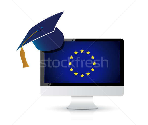European education concept, study abroad Stock photo © alexmillos