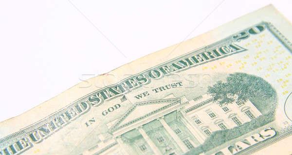 Twenty Dollar Bill isolated over white background Stock photo © alexmillos