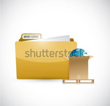 medical history folder concept illustration design Stock photo © alexmillos