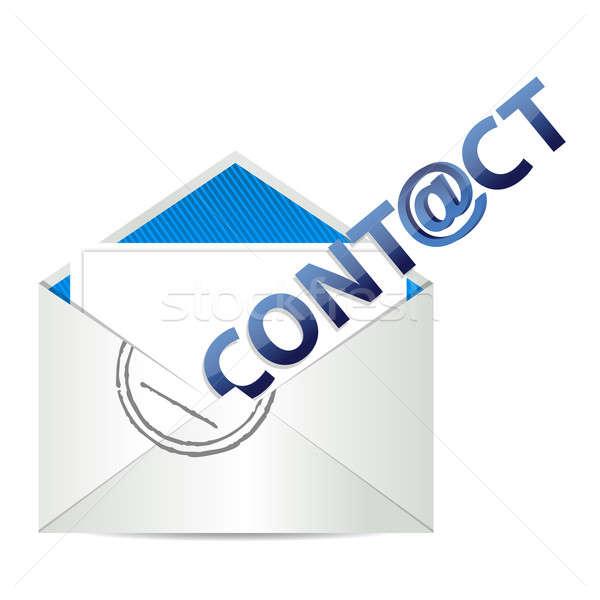 E mail contact us  Stock photo © alexmillos