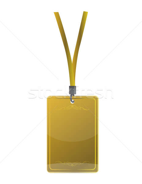 Złoty bezpieczeństwa czerwony etapie powrót Zdjęcia stock © alexmillos