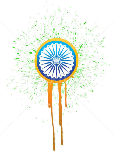 India ink drops illustration design  Stock photo © alexmillos