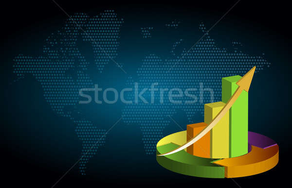 business background Stock photo © alexmillos