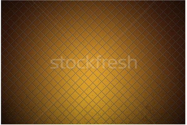 orange carbon metallic seamless pattern design background textur Stock photo © alexmillos