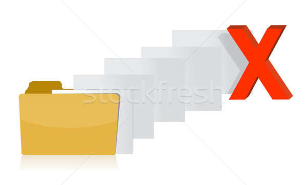 File transfer canceled Stock photo © alexmillos