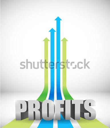 seo link destinations illustration Stock photo © alexmillos