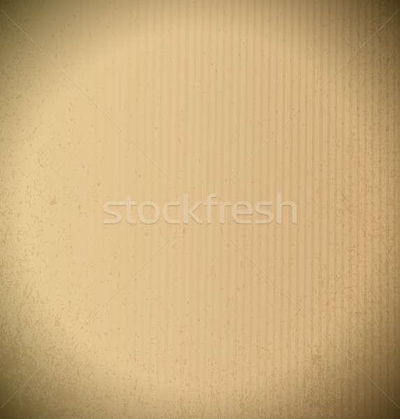 realistic cardboard illustration design texture Stock photo © alexmillos