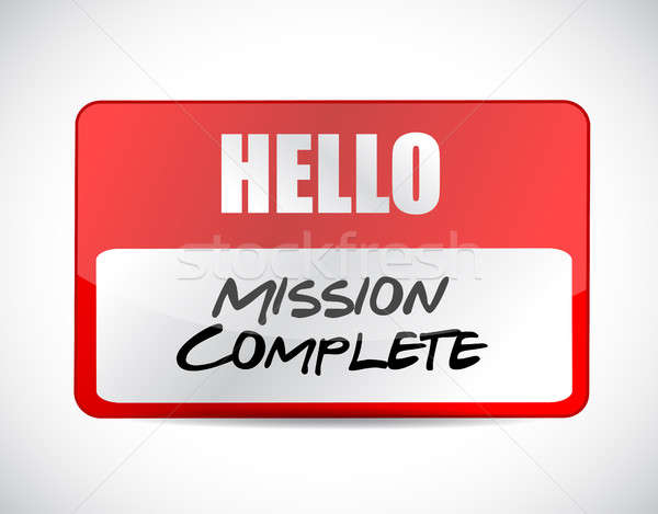 ミッション にログイン 実例 デザイン ストックフォト © alexmillos