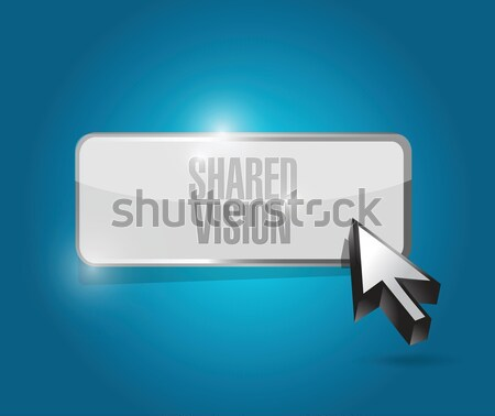 pin pointer arrow illustration button design Stock photo © alexmillos