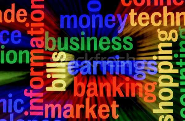 Iş kazanç pazar Internet dizayn arka plan Stok fotoğraf © alexskopje