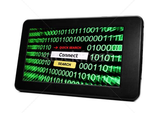 Bağlamak arama iş telefon Internet dizayn Stok fotoğraf © alexskopje