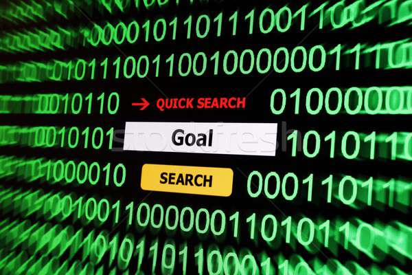 поиск цель компьютер Мир технологий веб Сток-фото © alexskopje