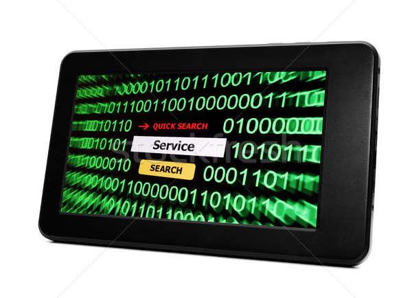 поиск службе телефон интернет телефон сеть Сток-фото © alexskopje