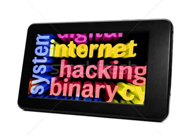 интернет телефон сеть мобильных связи Сток-фото © alexskopje