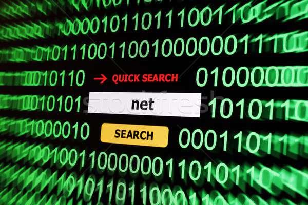 Search for net Stock photo © alexskopje