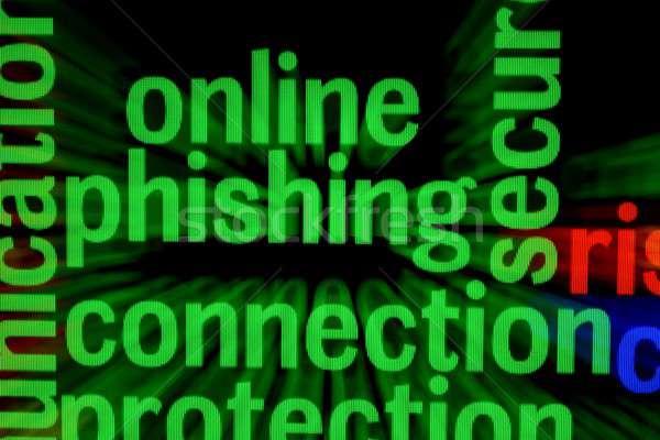 On-line phishing conexão tecnologia teclado rede Foto stock © alexskopje