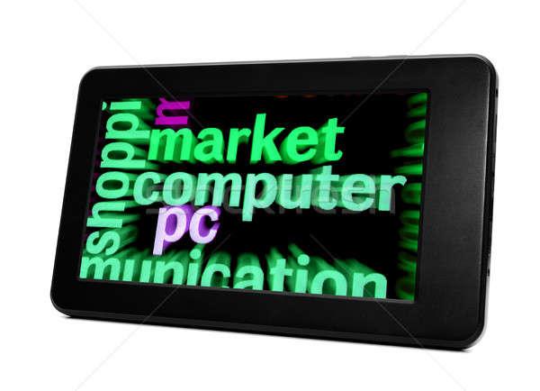 Market computer Stock photo © alexskopje