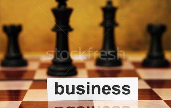 Business concept Stock photo © alexskopje