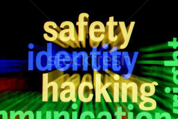 安全 アイデンティティ ハッキング 技術 キーボード ネットワーク ストックフォト © alexskopje