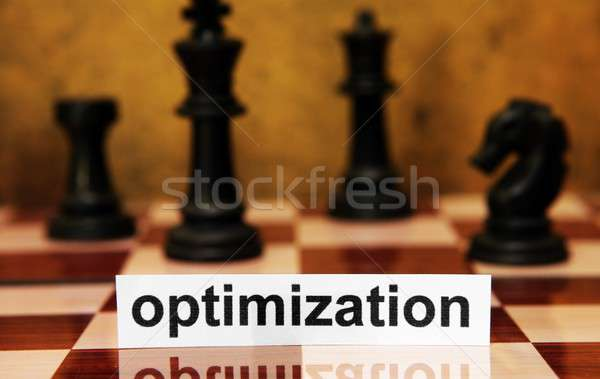 Optimizasyon Internet bağbozumu beyaz oyun antika Stok fotoğraf © alexskopje