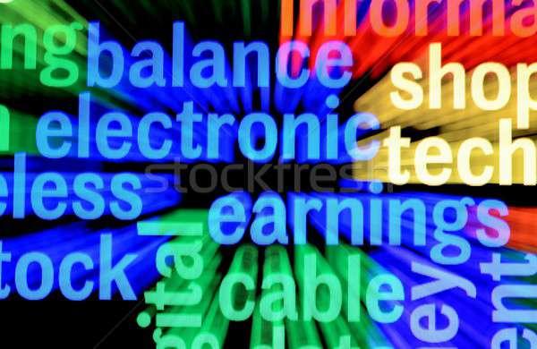 Dengelemek kazanç bilgisayar güvenlik ağ web Stok fotoğraf © alexskopje