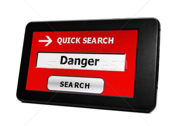 Search for danger Stock photo © alexskopje