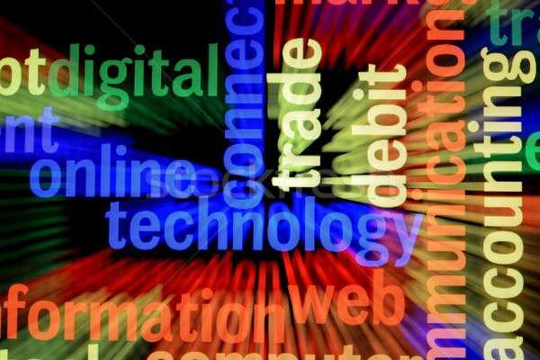 çevrimiçi teknoloji Internet Sunucu güvenlik bulut Stok fotoğraf © alexskopje