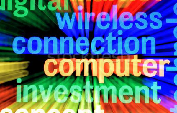 ワイヤレス 接続 技術 ネットワーク 通信 情報 ストックフォト © alexskopje