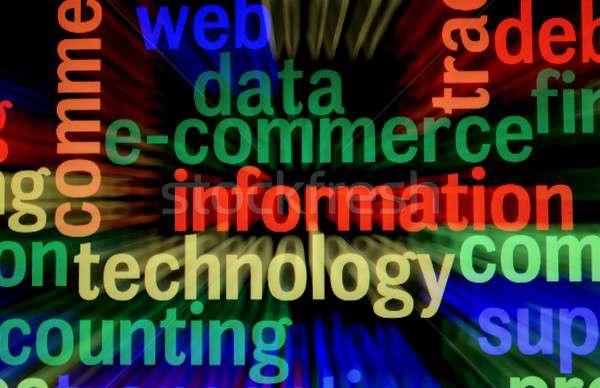 Information technology Stock photo © alexskopje