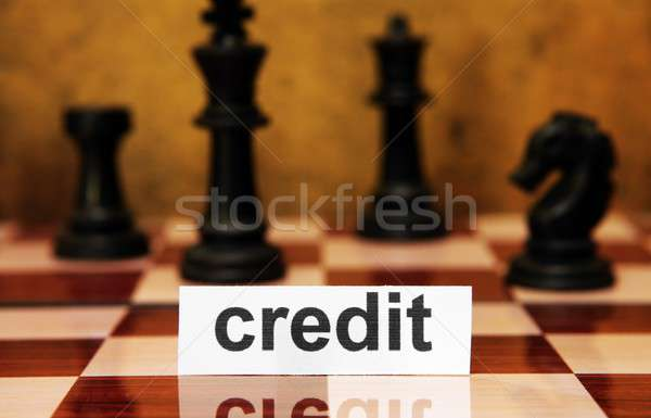 Credit concept Stock photo © alexskopje