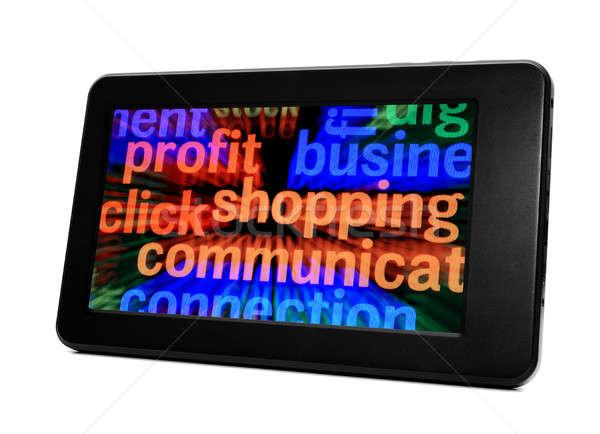 E- shopping Stock photo © alexskopje
