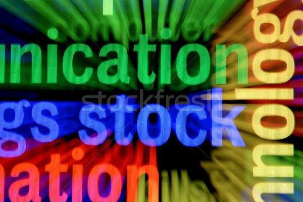складе онлайн бизнеса служба фон веб Сток-фото © alexskopje