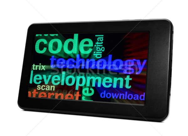 Code technology development Stock photo © alexskopje