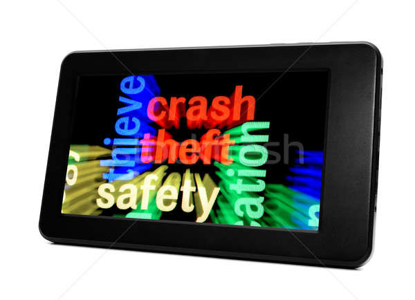 Theft safety concept Stock photo © alexskopje
